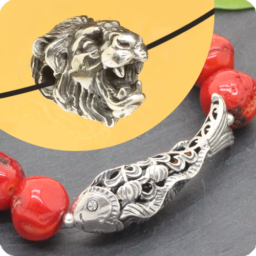 Silverbeads with Animals