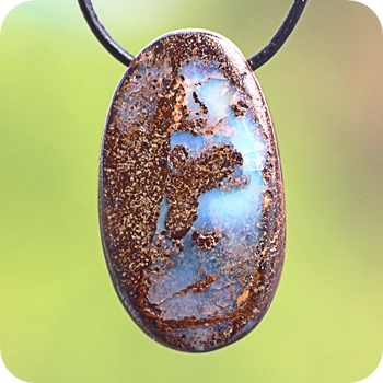Boulder Opal pendants unique item