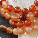 Gemstone beads 75cm
