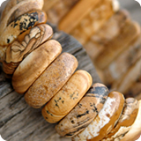 Bracelets semi precious stones