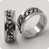 stainless-steel rings to order