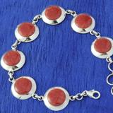 Gemstone/Coral Bracelets