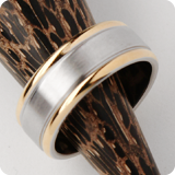 stainless-steel rings on stock
