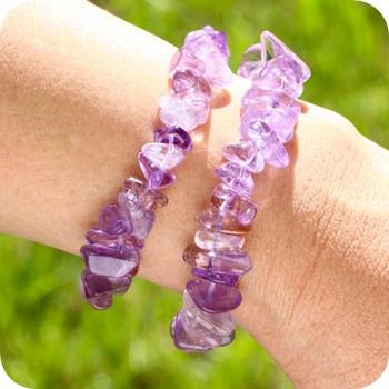 Edelsteine Armbänder Mini Steinchen