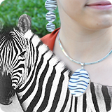 Zebra Shell Jewellery