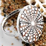 Spider-Muschel Ringe