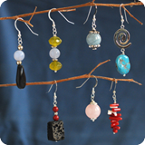 Gemstone Ear Hooks