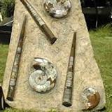 Fossilien Platten