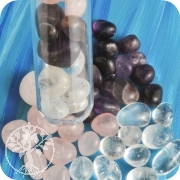 Water gemstones for test tube