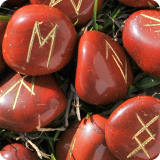 runes on gemstones