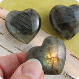 genstone Hearts small Handstones
