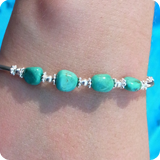 Gemstone Silver Bracelets