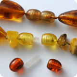Amber Clasp