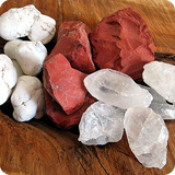 Water gemstones Rough Stones