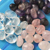 Water gemstones Tumbled Stones