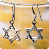 Silberohrhänger Symbol