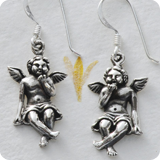 Ear Pendant Angel