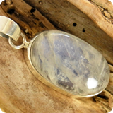 Gemstone Pendants Rainbow Moonstone