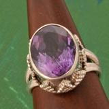 Amethyst Ringe Silber