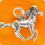 Pferde Esel Silberanhänger