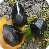 Turmaline Black Crystals