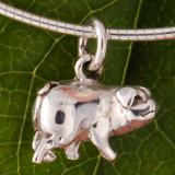 Schwein Silber Anhänger