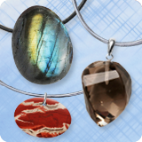 Gemstone Pendants Drop Shape
