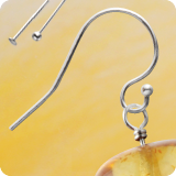 DIY earring jewelry findings sterlingsilver 925.