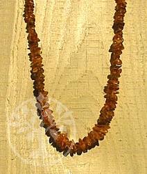 Halskette Basic cognac Bernsteinkette