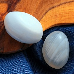 Natural Agate Tumbled Stone India Banded 20-30mm