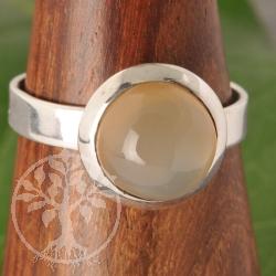 Mondstein Silberring Nr006