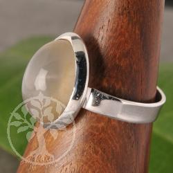 Mondstein Silberring Nr008