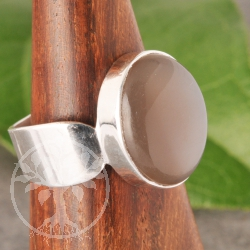 Moonstone Ring Silver 925 unisize 54-58