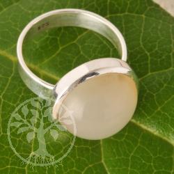 Mondstein Silberring Nr010