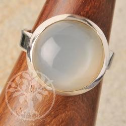 Mondsteinring Silber Nr011