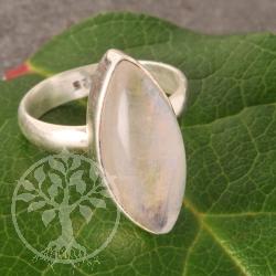 Regenbogenmondstein Silberring  Nr014