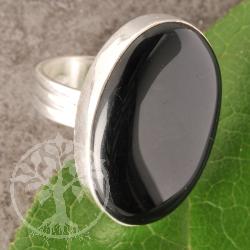 Silberring Onyx Nr001