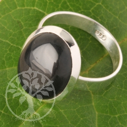 Silver Ring Onyx