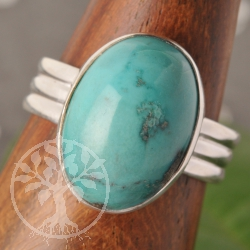 Turquoise Silver Ring Silver 925