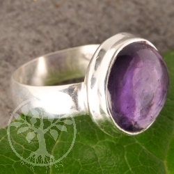 Amethyste Gemstone Ring Silver