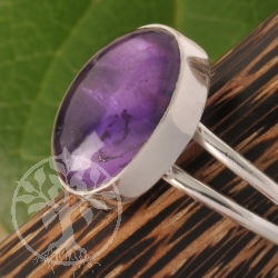 Amethyst Silver Ring 925 Sterlingsilver