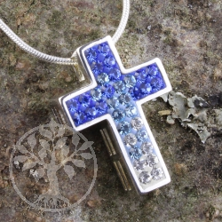 Silber Kreuz Swarov Kuletti