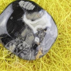 Silver Leaf Agate handstone