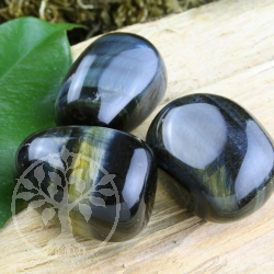 Dark Tigereye blue Tumbled Stone