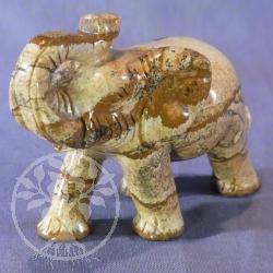 Picture Jasper Elefant Figure