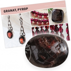 Garnet Gemstone Set