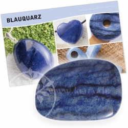 Blue Quarze Gemstone Set
