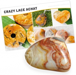 Agate Crazy Laze Gemstone Set