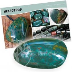 Heliotrop Bedeutung Karte Set