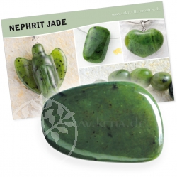 Nephrite Jade Gemstone Set